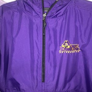 East Carolina University Rain Jacket